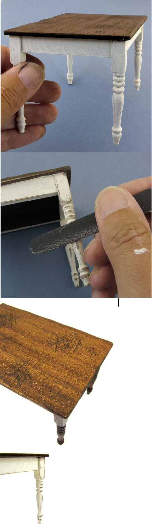 ideas about Miniature Furniture on Pinterest Dollhouse