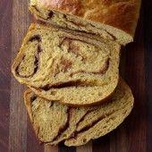 Pumpkin Cinnamon Swirl Bread | Baked by Rachel