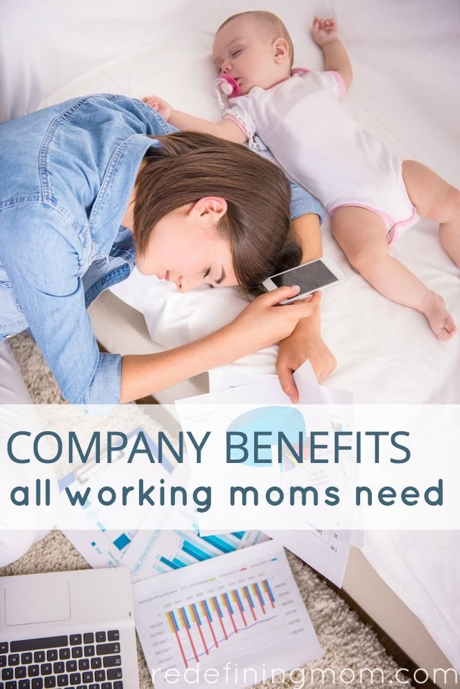 Some of the most important benefits that women need are left to the employer to offer. Read a detailed list of company benefits working moms need.