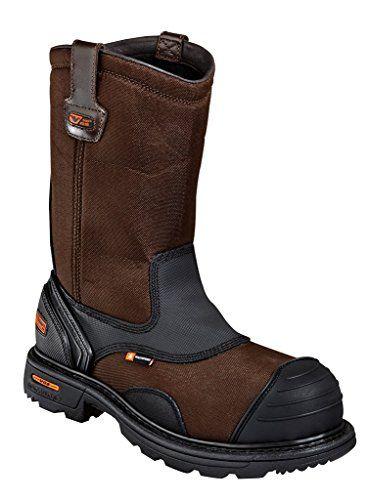 Thorogood Men's Wellington Plain Toe Safety Leather Boot - http://shoes.goshopinterest.com/mens/boots-mens/snow-boots-mens/thorogood-mens-wellington-plain-toe-safety-leather-boot/