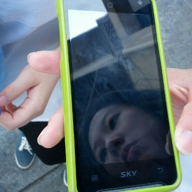 "@mckriss's photo: ""Stopped some tiny Korean girls on the street and took photos of their phones... Exotic stuff! (pt. 1)"""