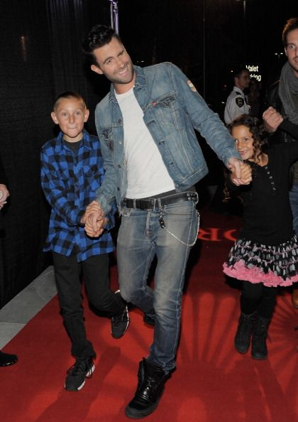 photos of Adam levine's family | Adam Levine #Sam Levine #Liza Levine