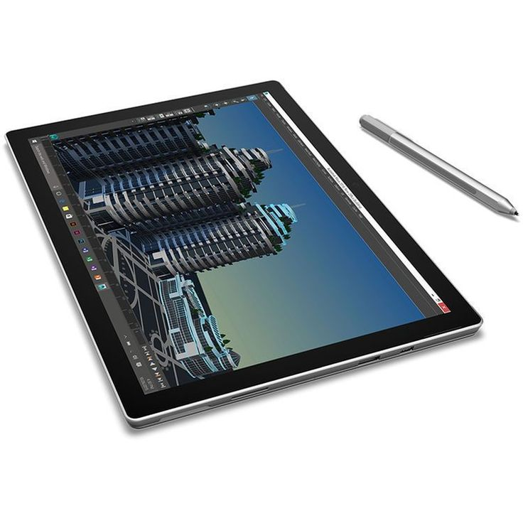 "Microsoft 12.3"" Surface Pro 4 128GB m3 Multi-Touch Tablet (Silver) - SU3-00001 #Microsoft"
