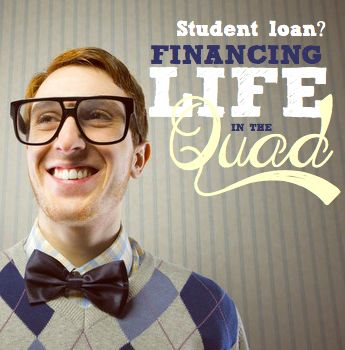 Student loans | Financing life in the quad - Student loans scary? Read my story about life at uni. Learn about the cost of being a student in Australia. Calculator: Building an education fund for kids.