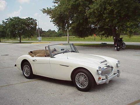 """This has been my dream car since I was in 7th grade!•Kayla 1967 Austin Healey 3000 MkIII-""""Saxon"""""""