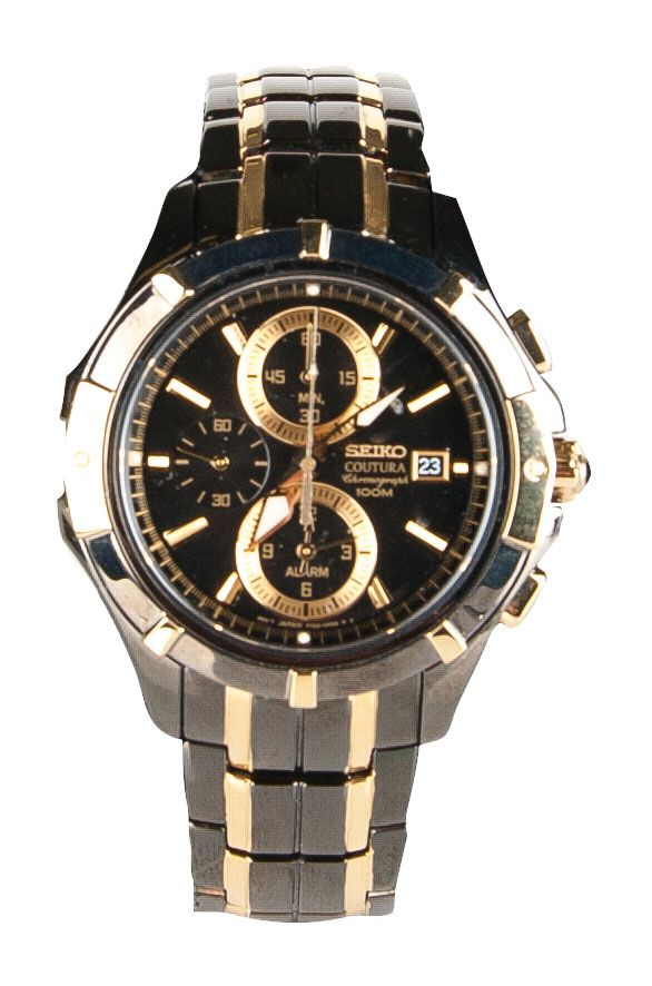 Timmermans Jewellers Seiko Coutura Gents Chronograph Watch $1,150