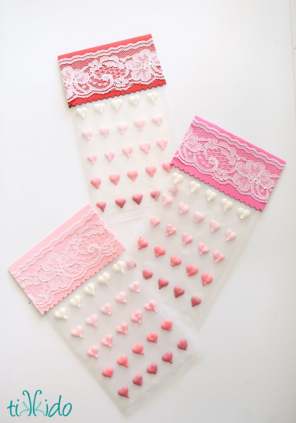 Tutorial and recipe for making homemade candy buttons (that classic, old fashioned candy), but with a Valentine's day twist. Make them in heart shapes for Valentine's day!