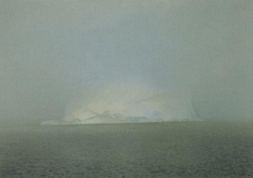 Richter, Iceberg in Mist, 1982