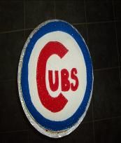 Birthday cake for a CUBS fan