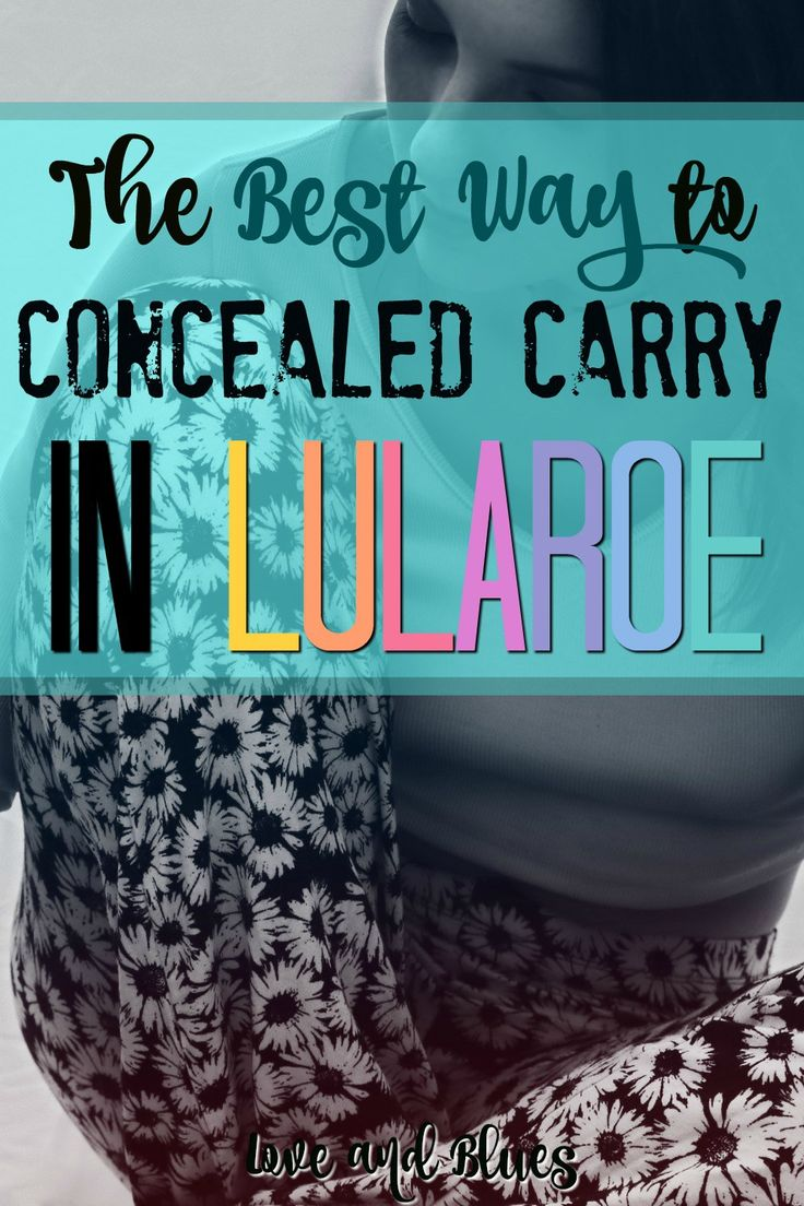 It's important to me to be able to concealed carry, but I didn't want to give up feminine clothes either. The holster she mentions in this article is the PERFECT solution.  Honestly, it's the only one I use. Totally recommend it.