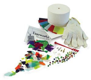 Fuseworks Microwave Kiln Kit - OOOOOOOH: Microwave Kiln, Fusework Beginner, Fusework Microwave, Kiln Kits, Fused Glasses, Fused Kits, Glasses Fused, Beginner Fused, Crafts Supplies
