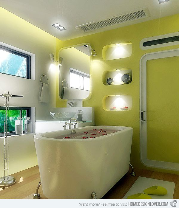 Gray Home Design Ideas: 197 Best Images About Gray & Yellow Bathroom Ideas! On
