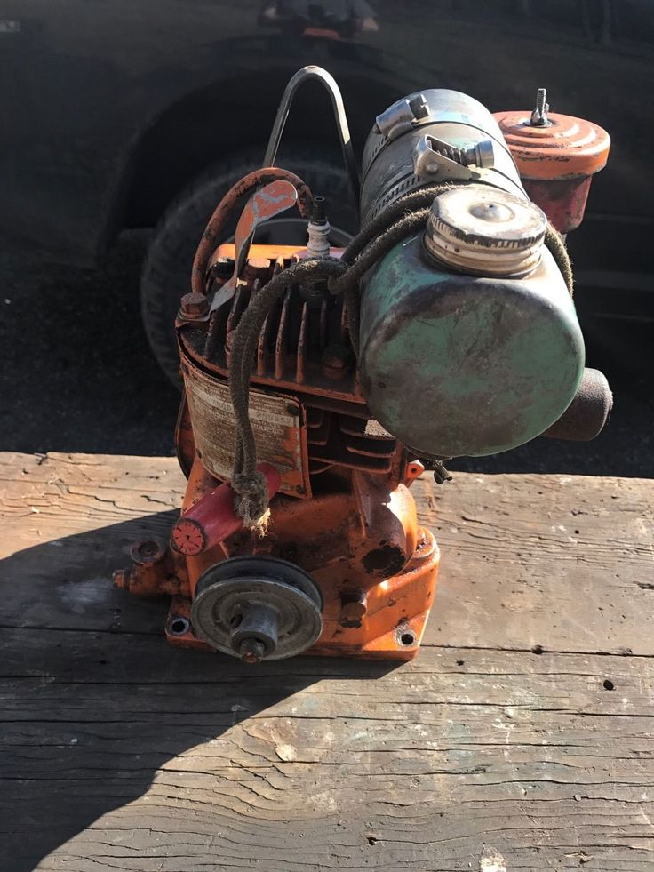 Vintage Briggs Stratton 5S Sears 500 Engine Motor Runs Good | eBay