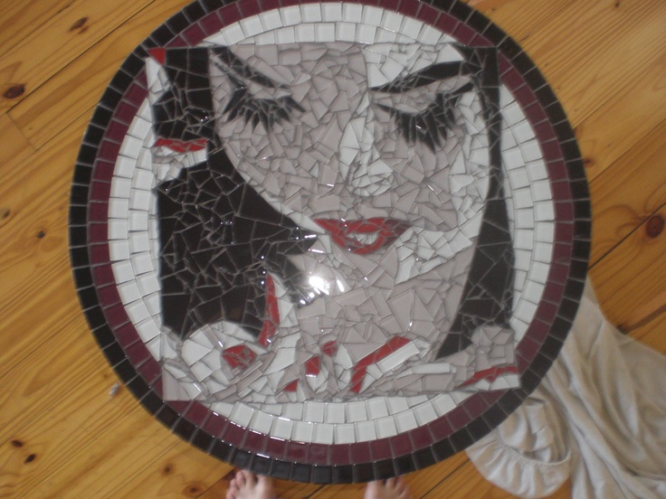 first mosaic table 2010