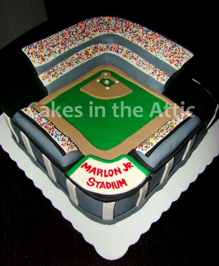 Top Baseball Cakes: 10 Best Images About Grooms Cake On Pinterest