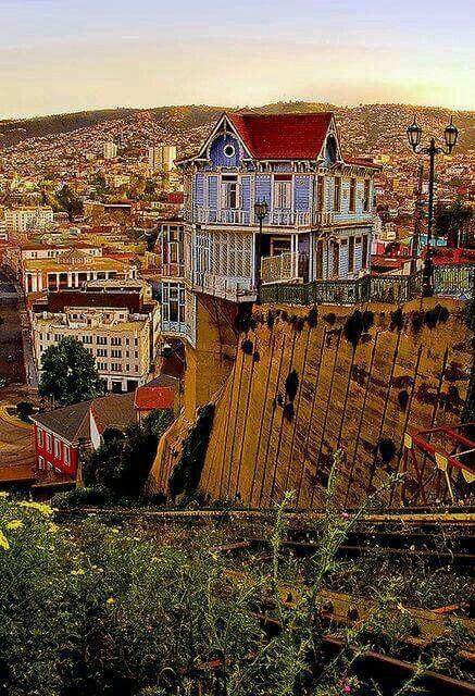 cerro artilleria .valparaiso
