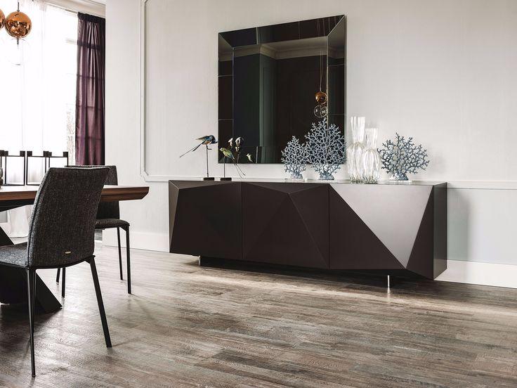 Buffet lacado com portas KAYAK by Cattelan Italia