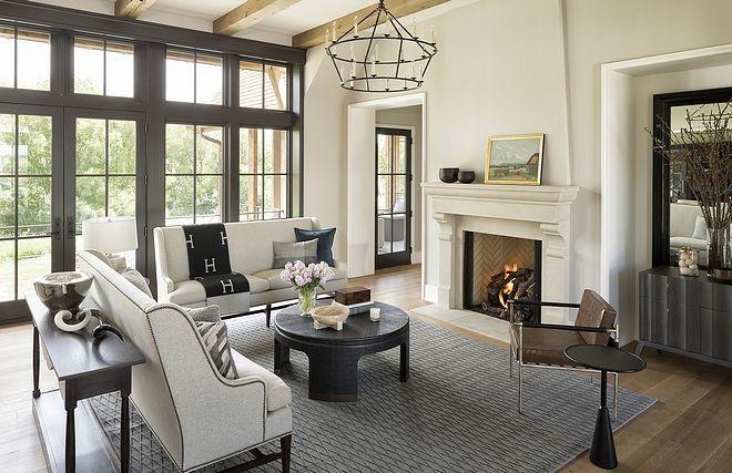 10 Extraordinary Ideas Of Living Room With Fireplace Archlux Net Tudor Home Interior Interior Design Family Room Design