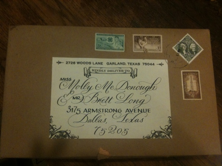 A Cigar Box wedding invite...love the box idea... :)