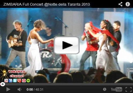 #ZIMBARIA awesome #Pizzica #Taranta Band from #Salento (Apulia- Italy) at La Notte della Taranta festival