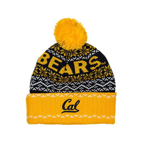 Top Of The World California Golden Bears College Ugly Sweater Knit Hat ($2.99) ❤ liked on Polyvore featuring accessories, hats, yellow, long beanie hats, knit beanie caps, yellow hat, embroidered knit hats and yellow beanie hat