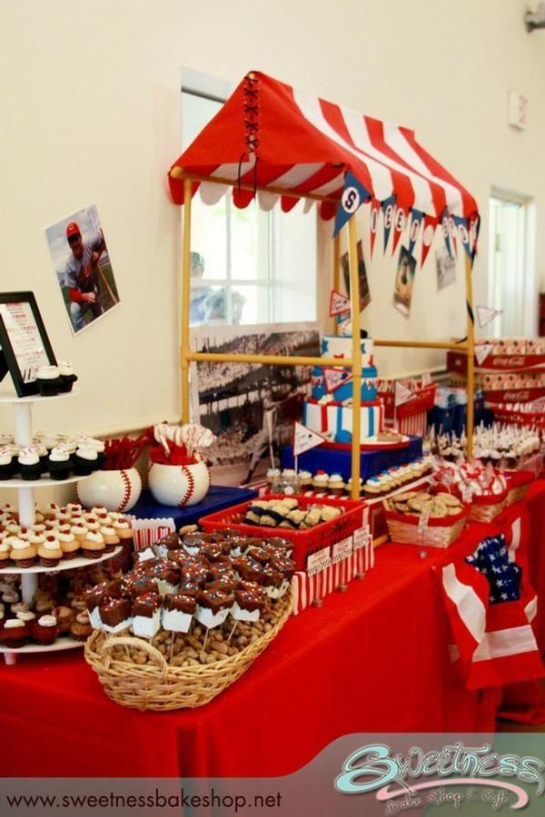 Great baseball theme party!
