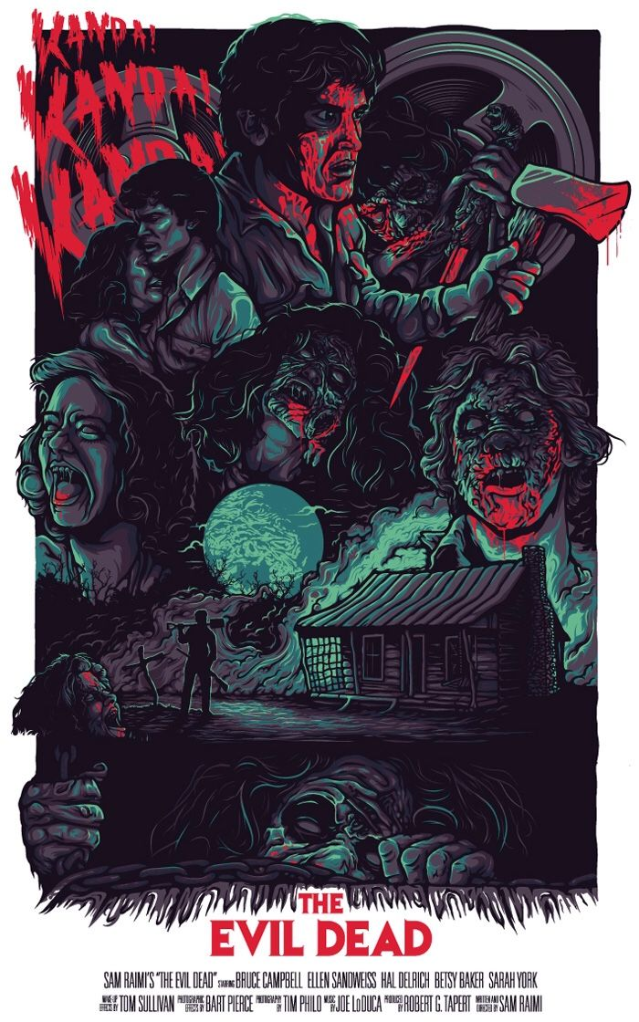 "welcome2creepshow: ""'The Evil Dead' by Nos4a2 """