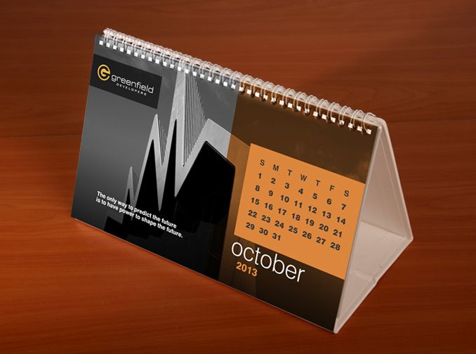 Greenfield Developers - Table Calendar