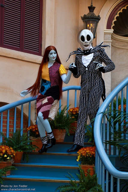 DL Oct 2011 - Meeting Jack and Sally by PeterPanFan, via Flickr Disneyland Resort, Anaheim, CA  Oct 13th, 2011