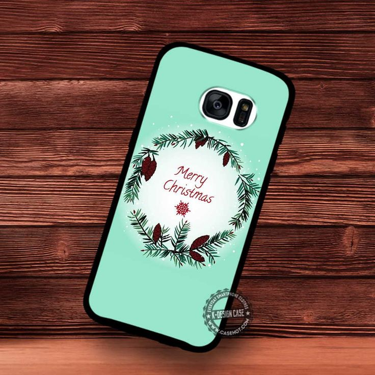 Pine Branches Frame with Christmas Cards - Samsung Galaxy S7 S6 S5 Note 7 Cases & Covers
