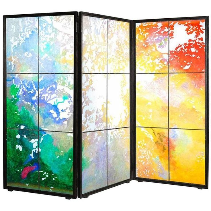 """Folding Screen """"Canopée"""" by Jean-Paul Agosti 