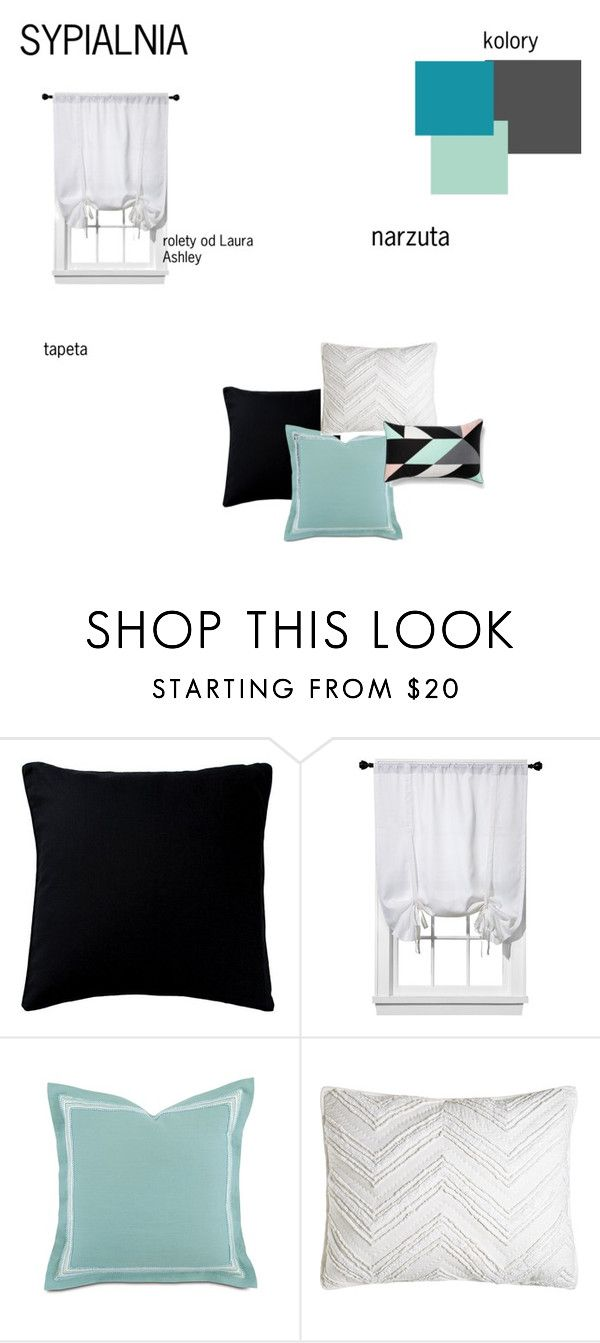 sypialnia by magdalena-grycz on Polyvore featuring interior, interiors, interior design, dom, home decor, interior decorating, Barclay Butera, C & F, Fogarty and Room Essentials