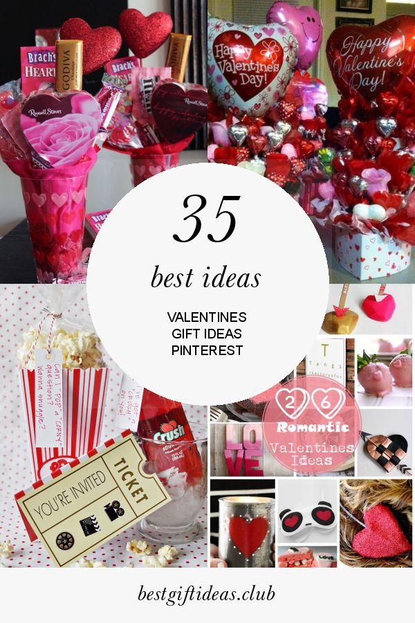 35 besten Ideen Valentinstag Geschenkideen Pinterest   – Valentine'S Day Gift Ideas
