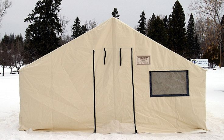 Our Insulated Canvas tents are made to withstand even the harshest climates. All our seams are triple stitched for long lasting strength and durability. Peaks, eaves and corner stress points...Read moreabout:Insulated Canvas Tent