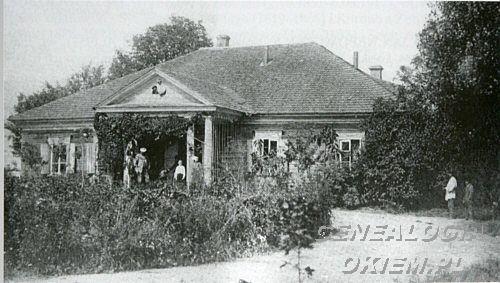 Pałace, dwory, dworki - Pereświatów -,1903 genograficzna