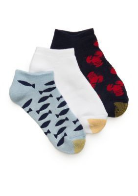 Gold Toe Multi Lobsters and Fish Socks 3 Pack