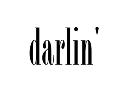 Darlin... probably the best thing a guy can call you!