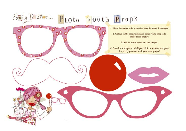 Emily Button photo booth props 1  www.emilybutton.co.uk