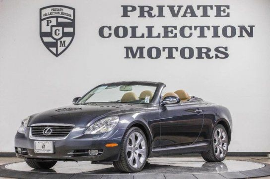 Convertible, 2008 Lexus SC 430 Convertible with 2 Door in Costa Mesa, CA (92627)
