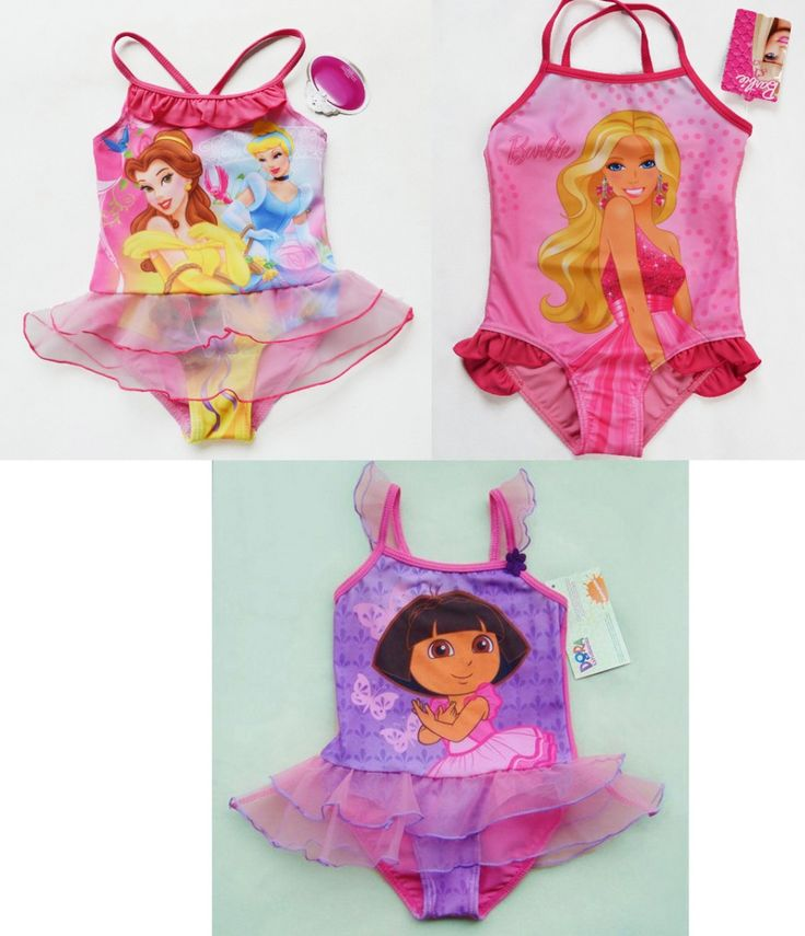 >> Click to Buy << 2016 Blonde Bar.bie and Dora Kids Tankini Swimsuit One Piece Baby Girls Bathing Suit Baby Girls Swimwear Bathing Suit Hot Sale #Affiliate