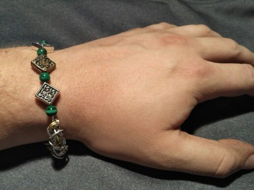 Norse Jarl Runestone bracelet