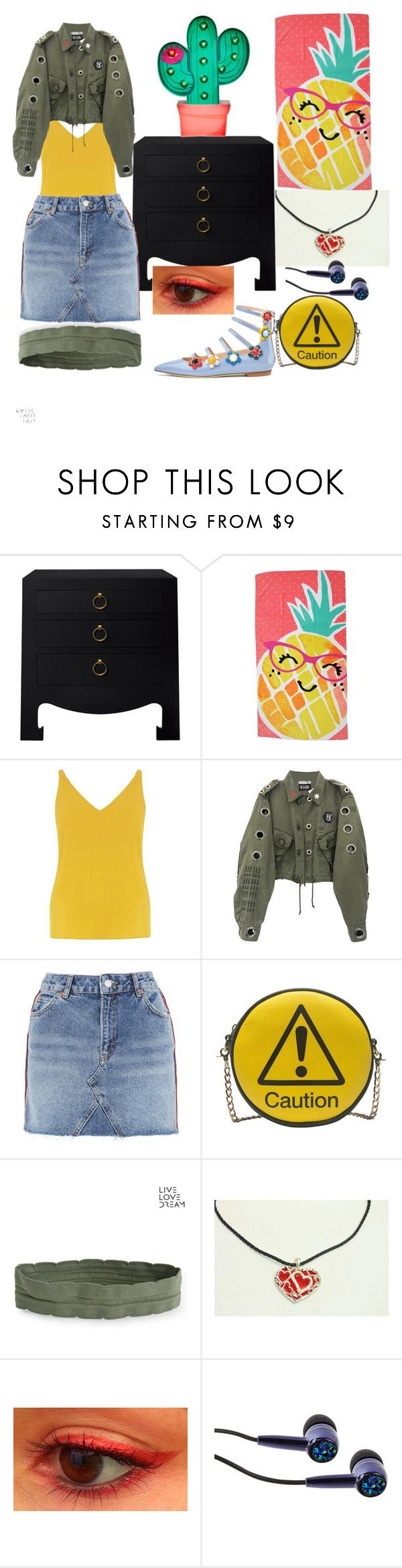 """Untitled #38"" by yasm-ina ❤ liked on Polyvore featuring Bungalow 5, Evergreen, Dorothy Perkins, Topshop, Melie Bianco and Aéropostale"