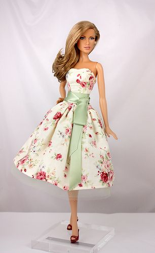 Dr. No Barbie Gown by Gin-O | Flickr - Photo Sharing!