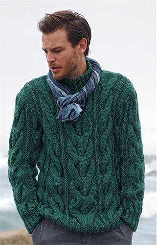 Bergere de France High Neck Sweater Pattern