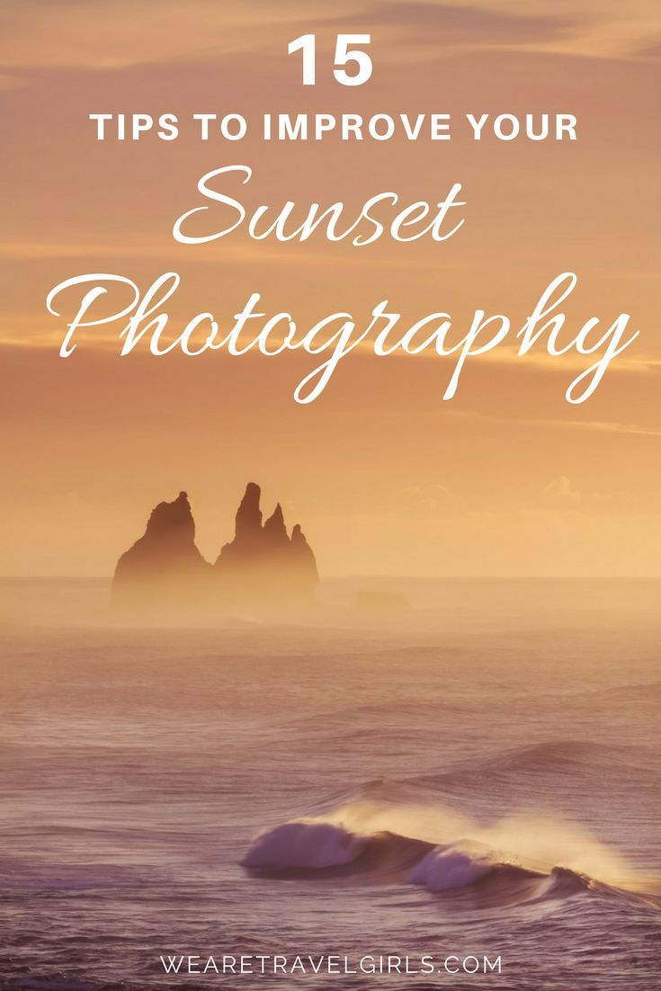 15 TIPS TO IMPROVE YOUR SUNSET PHOTOGRAPHY - When a rainbow of red mixed with orange, pink and purple lights up the sky you don't want to be staring blankly at your camera not knowing what to do. So I want to share a few little tips about how to photograph sunsets, properly!  Whether you are travelling the world and witnessing magical sunsets over the ocean or exploring a park in the middle of a city, the tips below will help you change the way you capture the sunset. Forget boring images…