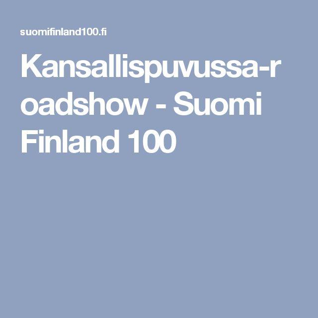 Kansallispuvussa-roadshow - Suomi Finland 100