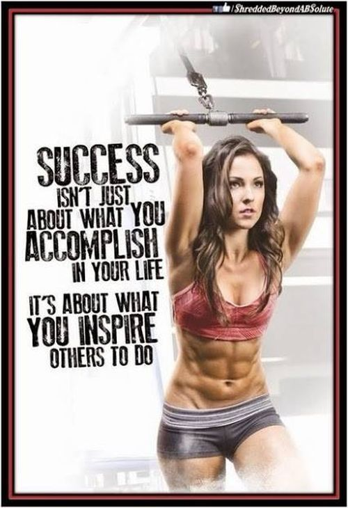 27 Fitness Motivation Pics And Quotes #rippedabswomen https://www.musclesaurus.com