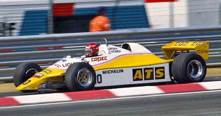 1982 ATS D5 - Ford (Eliseo Salazar)