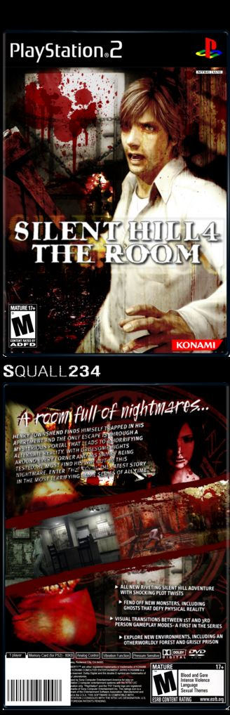 Silent Hill 4 - The Room - Covers