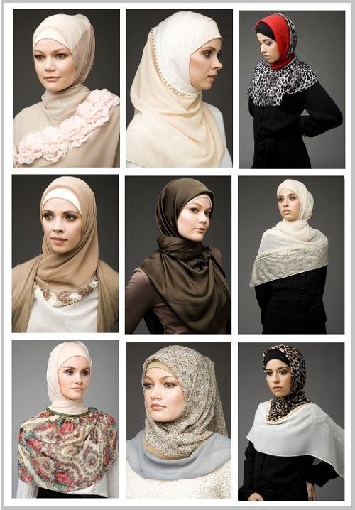 ❤ hijab style | cover the chest